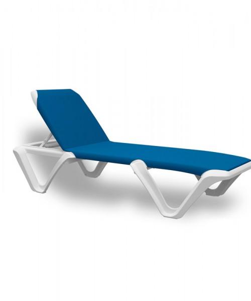 Sonnenliege EVA PRO Bäderliege -blaue Bespannung