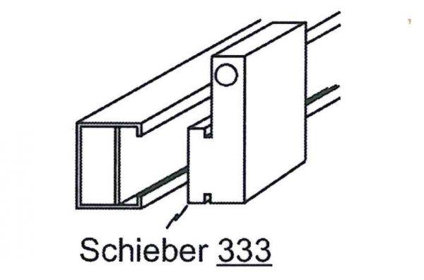 Schieber mit Hülsen (333) ab Bj 2005