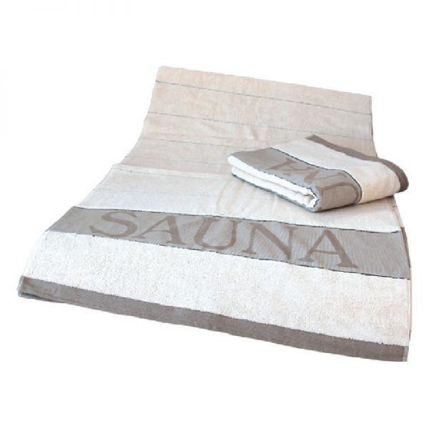 Sauna-Handtuch XXL - natur