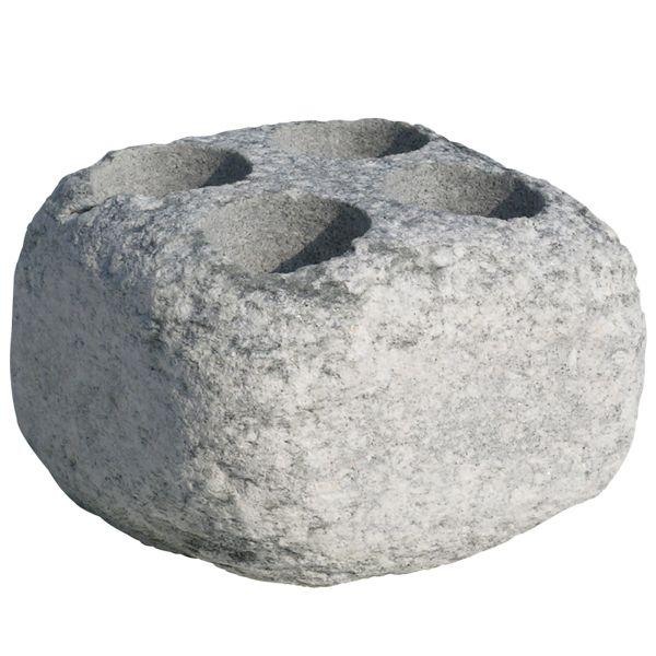 Höyrykivet (Aufguss-Stein) mit 4 Trichter