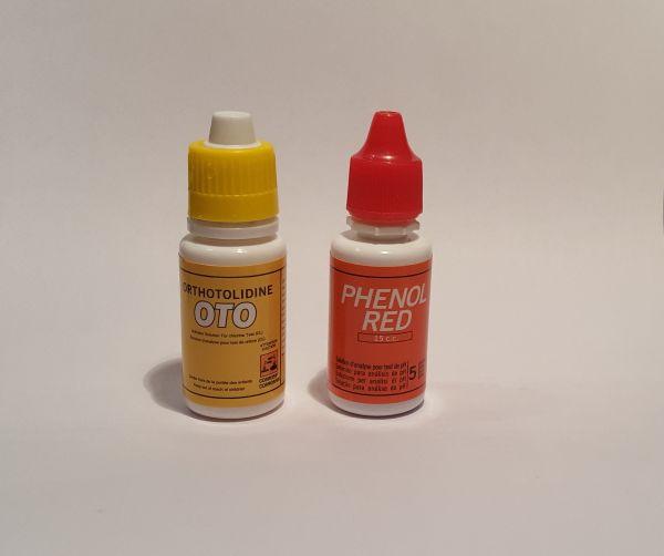 Ersatztropfen OTO (Chlor & PH) für Wassertester