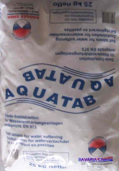 Salztabletten zur Wasserenthärtung 25kg Sack