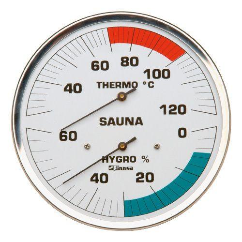 Sauna Hygrotherm 130mm Edelstahl Klassik/ohne Flansch