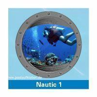 Poolaufkleber Nautic 1 - Einzelmotiv