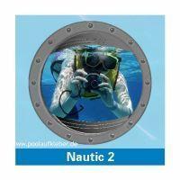 Poolaufkleber Nautic 2 - Einzelmotiv