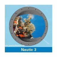 Poolaufkleber Nautic 3 - Einzelmotiv