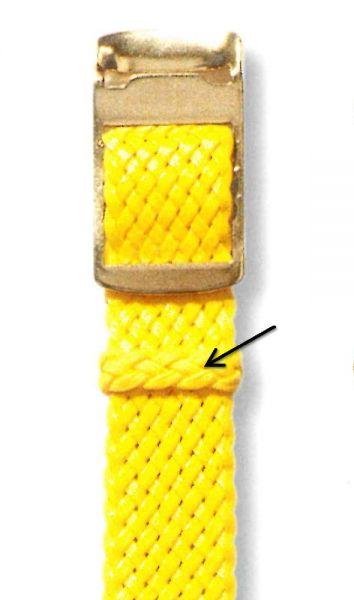 Schiebeschlaufe (Perlon) für Armband