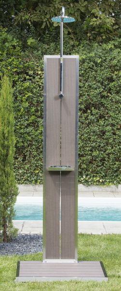 Gartendusche BAHAMA WPC von Ideal