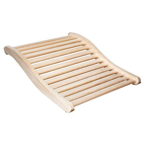 Sauna Rückenstütze ERGO aus Espenholz