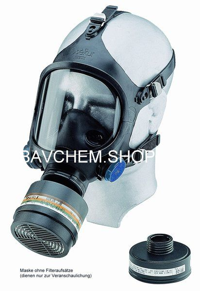 Chlorgasmaske VOLLMASKE C607 Selecta Klasse 2
