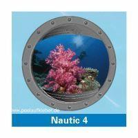Poolaufkleber Nautic 4 - Einzelmotiv