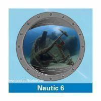 Poolaufkleber Nautic 6 - Einzelmotiv